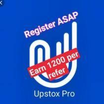 EARN from UPSTOCK(1200₹)