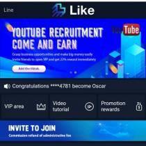 Like and earn